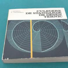CULEGERE DE STANDARDE DE DESEN TEHNIC/ E. DIACONESCU/ 1981