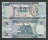 GUYANA   100  DOLLARS  2012  UNC   [1]  P-36b.2  ,  necirculata
