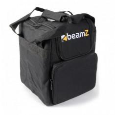 Beamz AC-115, geantă moale stivuibilă, geantă de transport 24x33x24 cm (lxÎxA) neagră