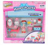 Set de joaca Happy Places S1 - Kit-ul de bun-venit Dreamy Bear, Moose