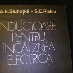 INDUCTOARE PENTRU INCALZIREA ELECTRICA-A.E. SLUHOTKI-S.E. RISKIN-TRAD.SVETENCO, Alta editura
