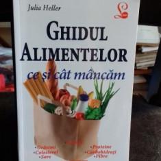 GHIDUL ALIMENTELOR. CE SI CAT MANCAM - JULIA HELLER
