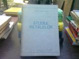 Studiul metalelor - Tudor Andrei Mutiu