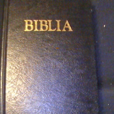 BIBLIA SAU SFINTA SCRIPTURA A VECHIULUI SI NOU. TESTAMENT- CU TRIMITERI-1223 PG, Alta editura