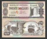 GUYANA   20  DOLLARS   1996  UNC   [1]  P-30b.2  ,  necirculata