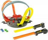 Circuit cu bucle Hot Wheels Roto Revolution, 4-6 ani, Plastic