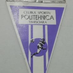 MCFA - FANION - CLUBUL SPORTIV POLITEHNICA TIMISOARA