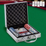Set de Poker cu Servieta Luxe Th3 Party (100 jetoane)