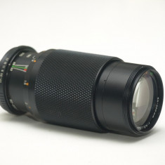 Obiectiv Chinon 80-200mm 1:4.5, montura Pentax.