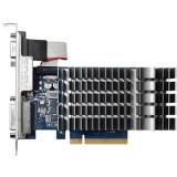 Placa video Asus NVIDIA 710-1-SL, GT710, PCI-E 2.0, 1024MB DDR3, 64bit, 954 Mhz, 1800 Mhz, VGA, DVI, HDMI, HEATSINK