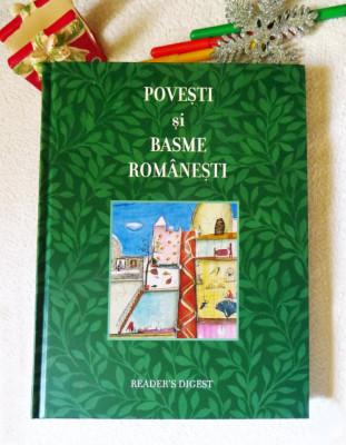 POVESTI SI BASME ROMANESTI - Reader's Digest; stare NOUA foto