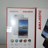 Smartphone MAJESTIC CRONO 64, Alb, 8GB, Neblocat