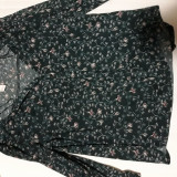 Bluza H&M, S/M, Verde