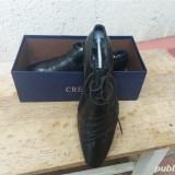 Pantofi piele nr.42, Negru