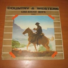 """Alexandru Andries-Country & Western III (disc vinil 12"""" LP vinyl pickup)"""