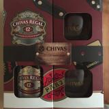 Pachet CHIVAS REGAL 12 ani 0.7L +2 pahare