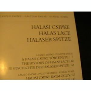 HALASI CSIPE-HALAS LACE HALASER SPITZE-LASZLO EMOKE PASZTOR EMESE-KISIUN HALAS-