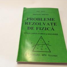 PROBLEME REZOLVATE DE FIZICA  A.HRISTEV OPTICA.FIZICA ATOMICA SI NUCLEARA,RF14/3