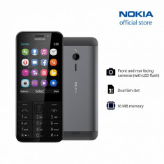 Telefon Refurbished Nokia 230 Dual Sim Black L220