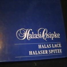 HALASI CSIPE-HALAS LACE HALASER SPITZE-LASZLO EMOKE PASZTOR EMESE-KISIUN HALAS-, Alta editura