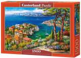 Puzzle Cote Dazur, 1500 piese, castorland