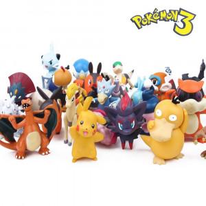 144 figurine POKEMON, set figurine pentru copii, nou