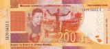 Bancnota Africa de Sud 200 Rand 2018 - PNew UNC ( SERIE NOUA - centenar Mandela)