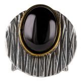 Inel dama argint 925 Vintage cu Onix
