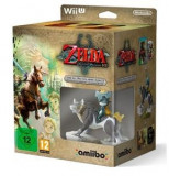 The Legend of Zelda Twilight Princess HD + Wolf Link Amiibo + soundtrack Wii U