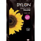 Vopsea haine, DYLON, pentru uz manual, Sunflower yellow
