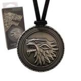 Game of Thrones Pendant Stark Shield