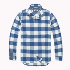Camasa - TOMMY JEANS Oxford Weave Shirt deosebita XL