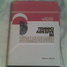 Tehnici adezive in stomatologie-Dorin Bratu...