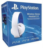 SONY PlayStation Casti Wireless pentru PS4 Albe