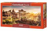 Puzzle panoramic Forum Romanum, 600 piese, castorland