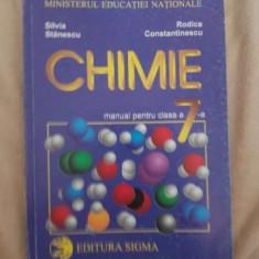 Chimie manual pentru clasa a VII-a Silvia Stanescu,Rodica Constantinescu, Clasa 7, 1999