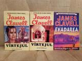 VARTEJUL/EVADAREA-JAMES CLAVELL (3 VOL)