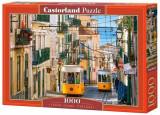 Puzzle Tramvaiele din Lisabona - Portugalia, 1000 piese, castorland