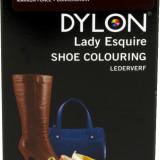 Vopsea piele, DYLON, aplicabila cu pensula, Lady Esquire Maro inchis