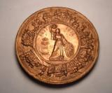 Medalie Regele CAROL I - Aniversarea a 5 ani de la Castigarea Independentei 1883