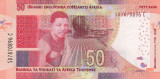 Bancnota Africa de Sud 50 Rand 2018 - PNew UNC ( SERIE NOUA - centenar Mandela )