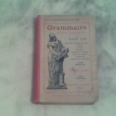 Grammaire-cours superior-Claude Auge