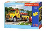 Puzzle Camion cu cisterna, 120 piese, castorland