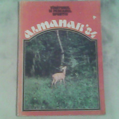 Almanah Vanatorul si pescarul sportiv 1984