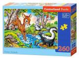 Puzzle Animalele padurii, 260 piese, castorland