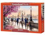 Puzzle De-a lungul raului, 2000 piese, castorland
