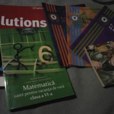 Cărți scolare, Clasa 6, Limbi straine