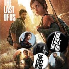 Insigna The last of us Pachet 6 bucati Ellie si Joel