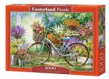 Puzzle Piata de flori - 1000 piese, castorland