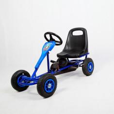 Kart cu pedale F 90 ,pentru copii cu varsta 2-5 ani,roti cauciuc,frana de mana